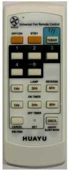 Пульт RM-F989 вентиляторов универсал