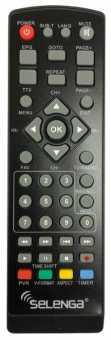 Пульт Selenga T30/T71D/Т80/HD850/HD920 и др. DVB-T2