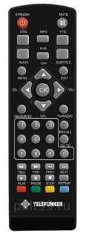 Пульт Telefunken TF-DVBT201 / 204/ 205/208 -211 dvb-t2