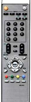 Пульт Pioneer AXD1515 /1516/1541/ 1552/1553 и др ТВ