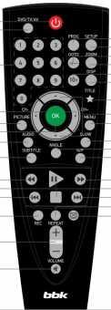 Пульт BBK RC-PL747 для PL747Ti, PL947Ti DVD