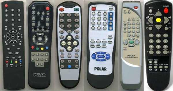 Пульты Polar для ТВ