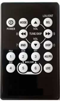 Пульт Soundstream VL-11A, Power Acoustik PL-10A магнитол