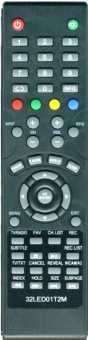 Пульт Akira 40/39/ 32LED01T2M и др TV