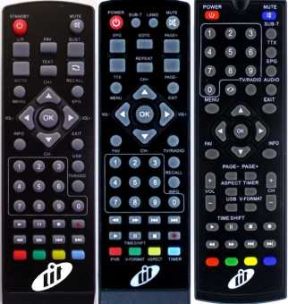 Пульты LIT Optimum, Temp и др. DVB-T2