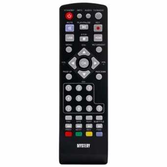 Пульты Mystery MMP-85/80/76/75/72/71/68/66DT2 и др. DVB-T2