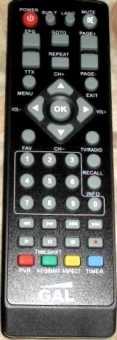 Пульт GAL RS-1010L-T/T2, RS-1011 приставки dvb-t2