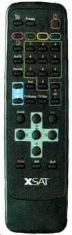 Пульт XSAT CDTV-410, PACE CDTV 415 и др