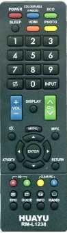 Пульт Sharp RM-L1238 ТВ универсал +3D