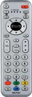 Пульт Philips RM-PH07 универсал TV-DVD-AUX