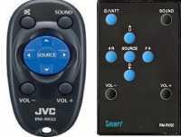 Пульты ДУ RM-RK50 (RM-RK52) и др. автомагнитол JVC