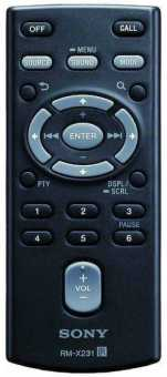 Пульт Sony RM-X231 и др автомагнитол