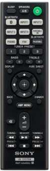 Пульты Sony RMT-AA400U, RMT-AA401U AV system