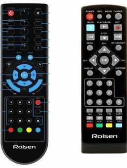 Пульты Rolsen DVB-T2 приставок