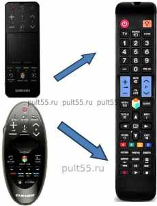 Пульт Samsung Smart Touch Control замена