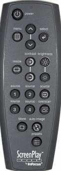 Пульты Infocus LP240/ 250, /540/600/640, X2/X3, ScreenPlay и др проекторов