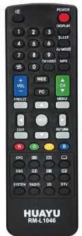Пульт Sharp RM-L1046 универсал 3D LED TV