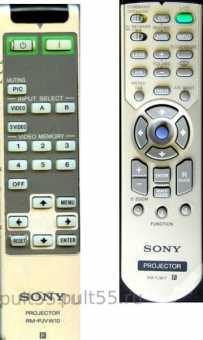 Пульты Sony RM-PJ17/ 18/19 и др. проекторов