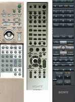 Пульты RM-ADP00х, RM-AAU00x, RM-ADU00x Sony дом. кинотеатров
