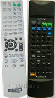 Пульты Sony AV и audio system