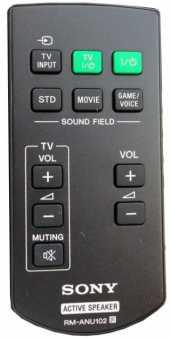 Пульт Sony RM-ANU102 для SA-32SE1/40SE1/46SE1
