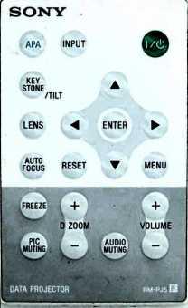 Пульт Sony RM-PJ5 и др. проекторов