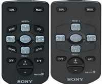 Пульты Sony RM-X114, RM-X115 автомагнитол