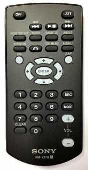 Пульт Sony RM-X170 автомагнитол - аналог