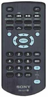 Пульт RM-X271 Sony автомагнитол
