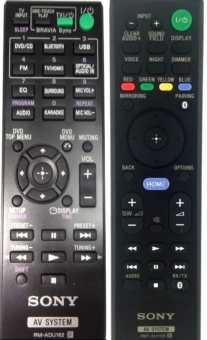Пульты Sony RMT-AH101/AH111E, RM-ANU215/207 саундбаров и др