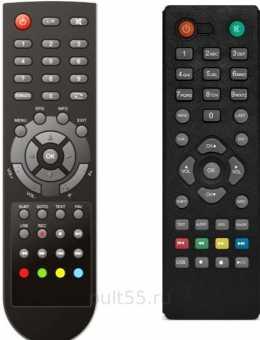 Пульты Supra SDT-92, SDT-95, SDT-96 DVB-T2