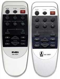 Пульт Sven HT-480, HA-430T/-1400T акустики