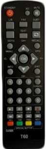 Пульты Selenga T60, T40 и др. DVB-T2
