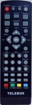 Пульт TELEBOX HD50, HD70, HD90  DVB-T2