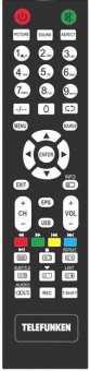 Пульт Telefunken TF-LED28S58T2, Akai LEA-28U62W и др. ТВ