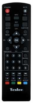 Пульт Tesler DSR-320, DSR-711/720/750/760 и др DVB-t2