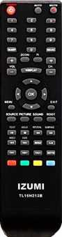 Пульты Izumi TL32H501B/615B/610B TLE32F410M и др TV