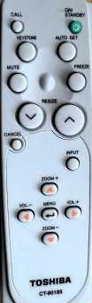 Пульт проектора Toshiba CT-90176, CT-90185,TLP-T70M и др