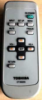 Пульт проектора Toshiba TDP-S20,/S35, TDP-T45/80/T90/T91, Smart и др