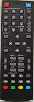 Пульт TVStar T2 516, 517 HD USB PVR и др. DVB-T2