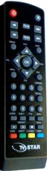 Пульт TVStar T1030, T2 505 HD USB PVR  DVB-T2