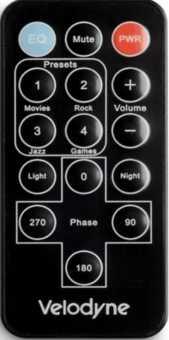 Пульт акустики Velodyne SPL-Ultra/Optimum серии