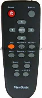Пульт ViewSonic PJ258D/ 557DC /556D, PJD6220/ 6230/ 6240 проекторов
