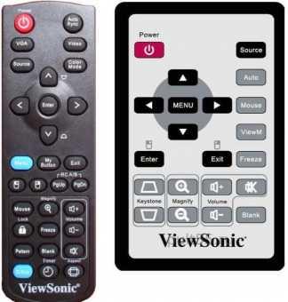 Пульты проекторов ViewSonic прочие