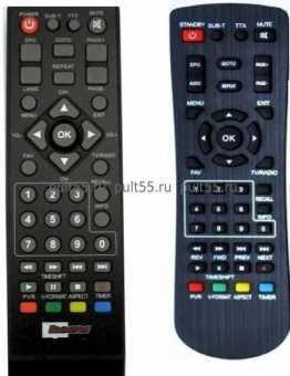 Пульт Вымпел B-148HD/138HD, B-49/B-51 и др DVB-T2