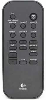 Пульт Logitech Z-5400/ -5450/-5500 акустики