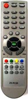 Пульт Akira ZD-RC30 для ТВ LCT-22HE02ST и др.